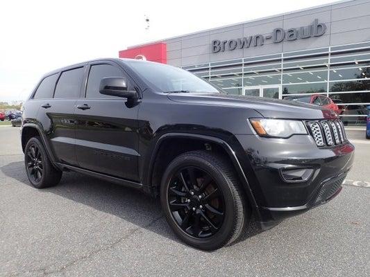 Brown Daub Jeep >> 2018 Jeep Grand Cherokee Altitude
